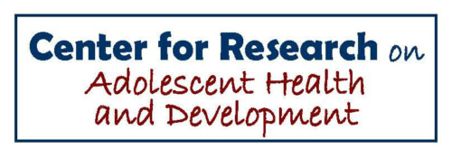 Center for Research on Adolescent Health & Development  logo