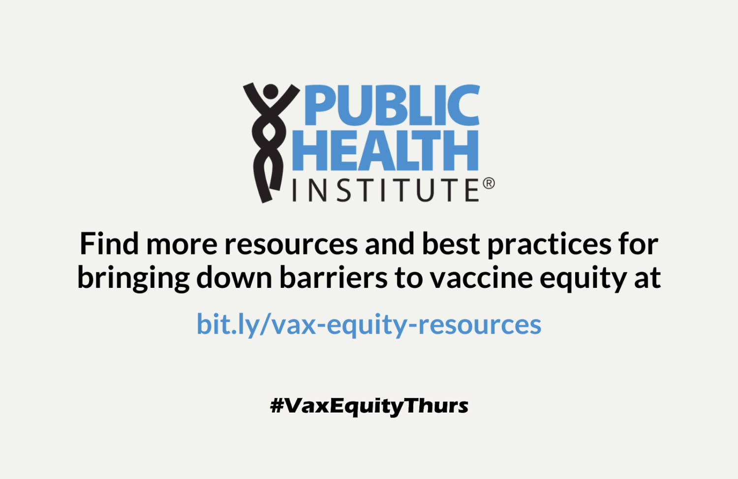 Find more vaccine equity tips on PHI's website